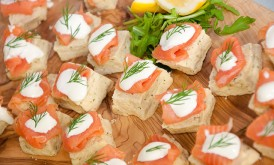 Smoked Salmon Scones
