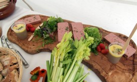 Home Made Pate Sharing Platter